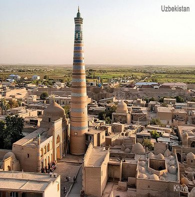 Travel to Khiva