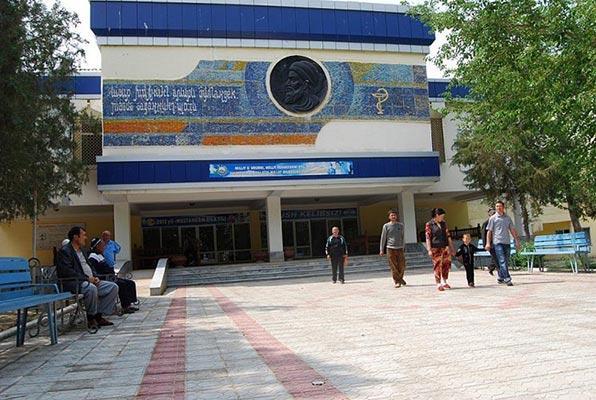 Санаторий «Абу Али Ибн Сино». Узбекистан
