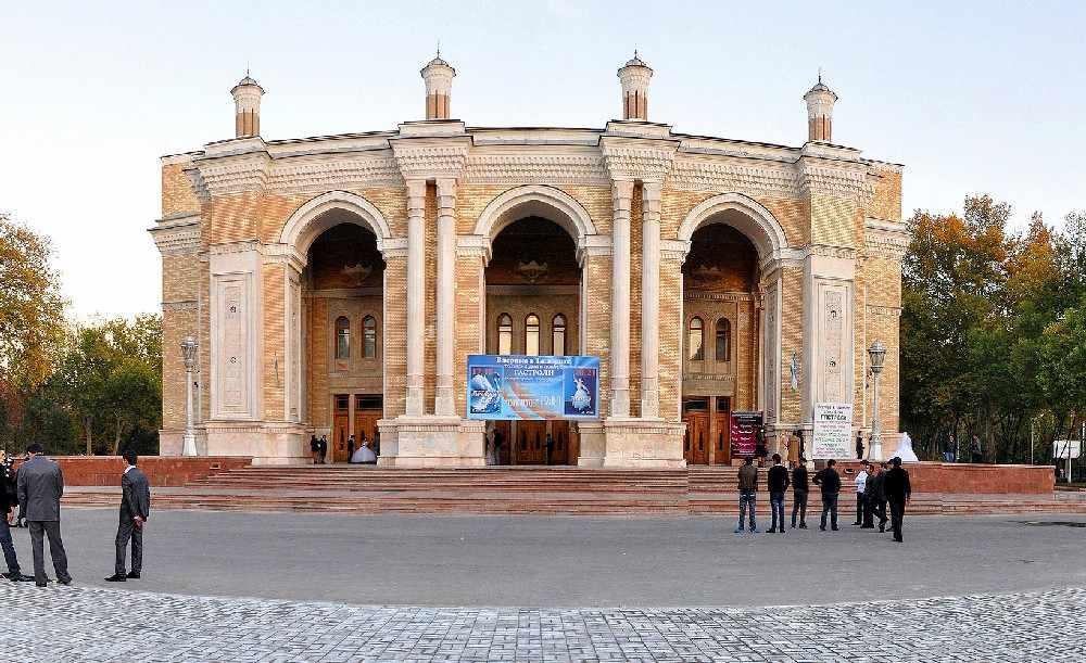 Алишера Навои1 1 - Great Silk Road Kyrgyzstan - Uzbekistan-Turkmenistan