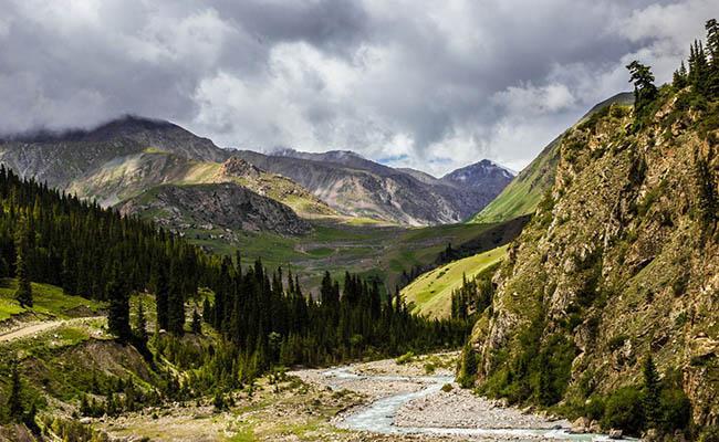 barskaun1 1 - Gorge Barskaun Kyrgyzstan
