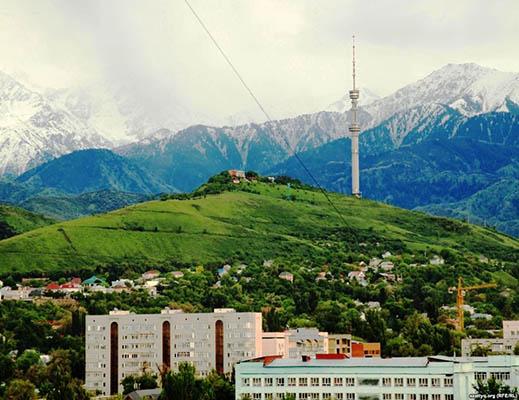 gory almati4 - Mountain peaks Almaty