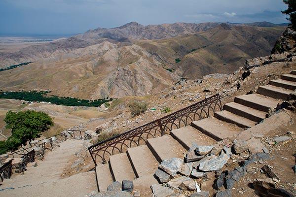 hazret daud7 - Holy places near Samarkand the Cave of Hazrat Daud