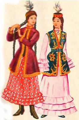 Image result for kazakh national dress