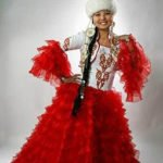 kaz svadba1 150x150 - Traditional Kazakh outfit the bride