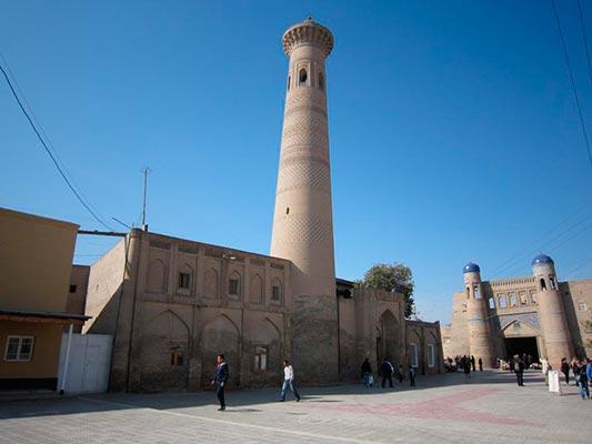 palvan kori4 - Madrasah and minaret of Palvan Kari
