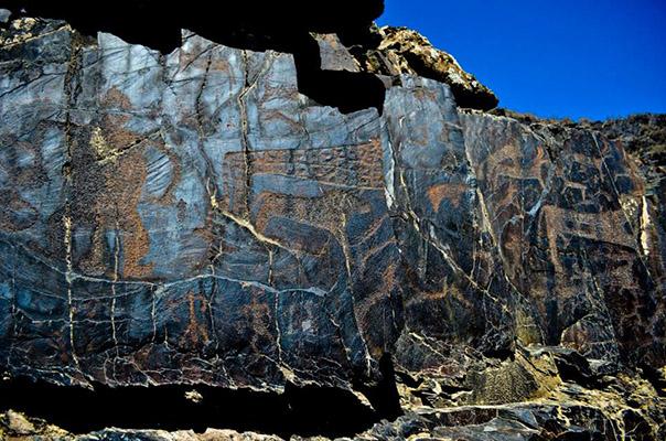petroglify - Petroglyphs of Uzbekistan