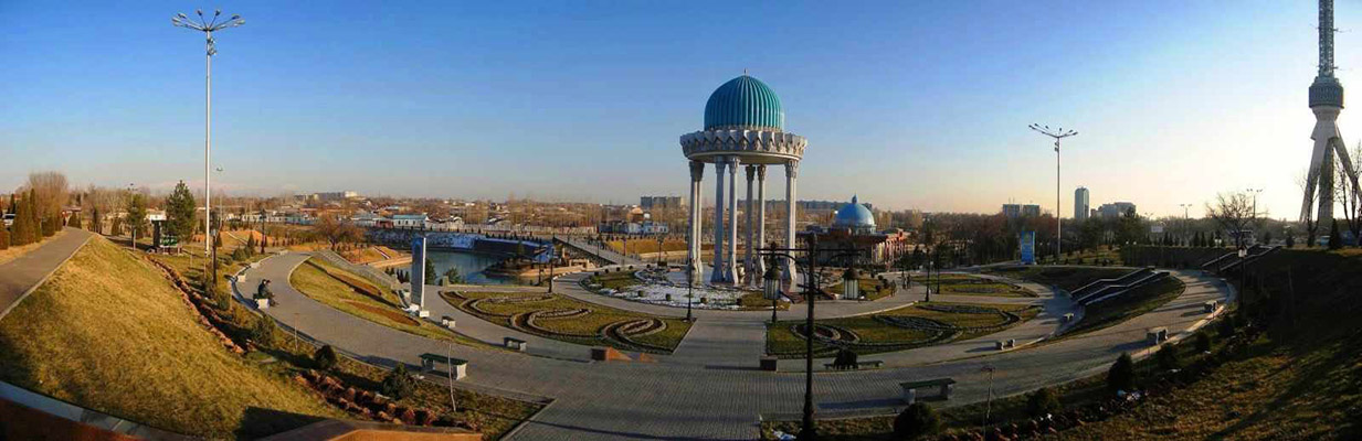tashkent panorama 1 - Hospitable Tashkent foe tourists from India