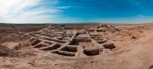 toprak kala4 300x136 - Settlement Toprak Kala
