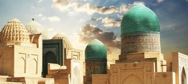 uzb - Shrine of Sayid Amir Kulal