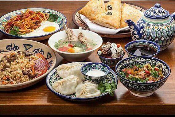 uzbek food complete 811 - Сuisine