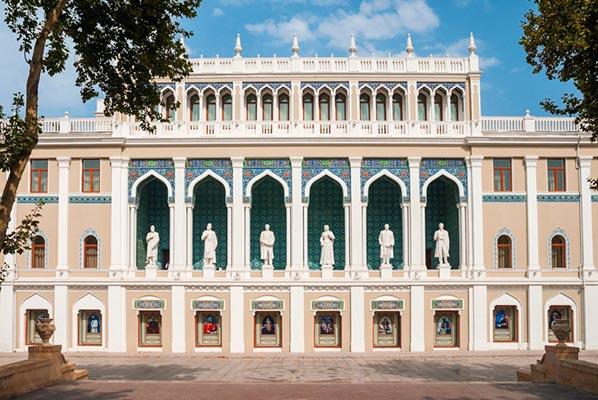 азербайджанской литературы им. Низами Гянджеви - Museum of Azerbaijan Literature. Nizami Ganjavi