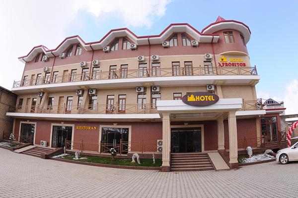 afrosiab karshi11 - Karshi.  Hotel Afrosiyob