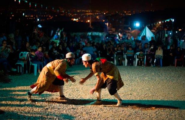 gulesh5 - Gylesh - Azerbaijani traditional wrestling