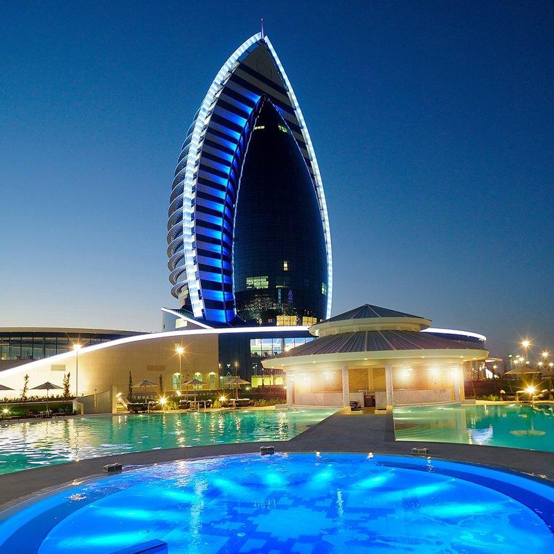hotels turkmenistan - Hotelstandorte