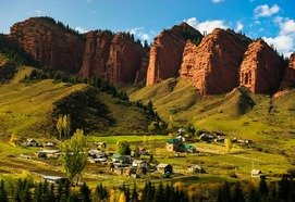 tours to kyrgyzstan - The Great Tour along the Central Asia