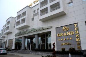 Отель Гранд Туркмен Ашхабад,