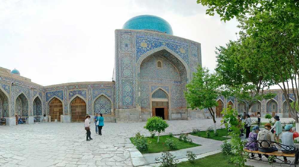 Тилла Кори - Узбекистан Hauptnah