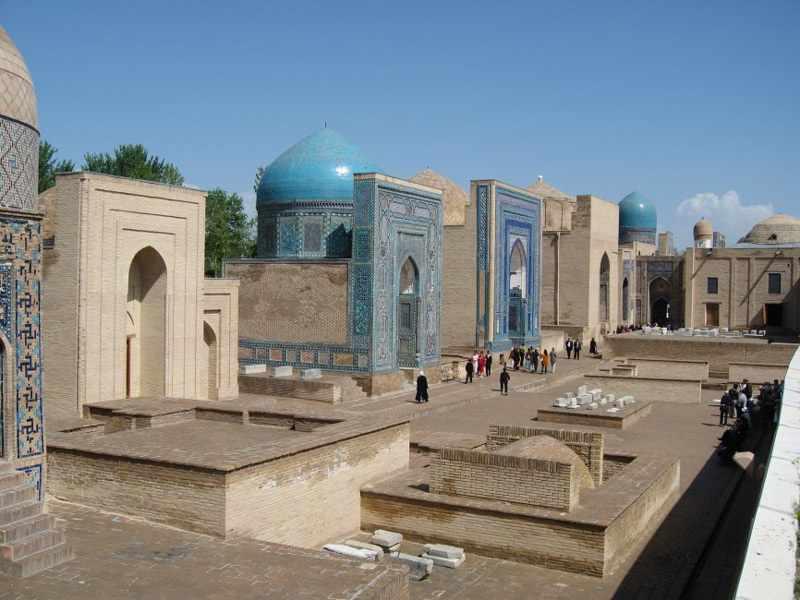 зинда2 - Ouzbékistan riche