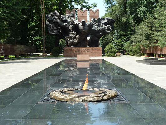 28 p5 - 28 PANFILOVS-GUARDSMEN PARK - REMEMBER ABOUT THE WORLD WAR TWO