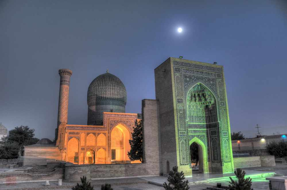 Gur e Amir Mausoleum in Samarkand a27921077 1 - GROSSE TOUR IN ZENTRALASIEN