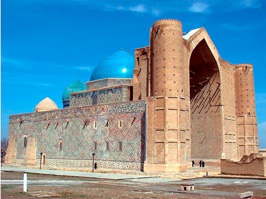hodji ahmed yasavi4 - Национальный мавзолей Ходжи Ахмед Ясави