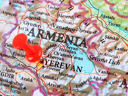 map visa - Виза в Армению