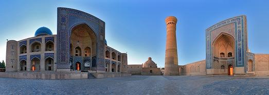 voyage1 1 - Ouzbékistan riche