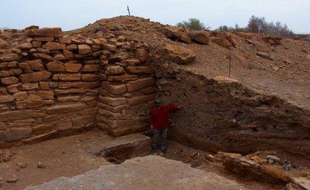 kizilkala kaz6 - Античное городище Кызылкала