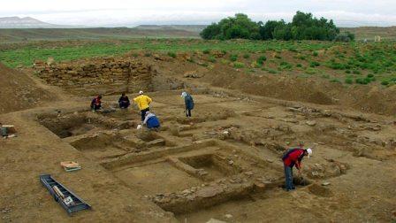 Античное городище Кызылкала