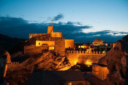 Rabati Fortress in Akhaltsikhe Georgia croped - Weekend in Georgia