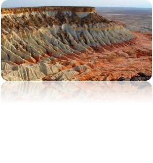 10 2 - Trekking in Turkmenistan/ in Karakum Desert