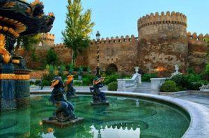 Великий Шелковый путь в землях Азербайджана
