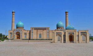 Достопримечательности • Ташкент • Пятничная мечеть Тилля-Шейха