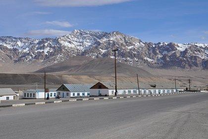 город Мургаб в Таджикистане
