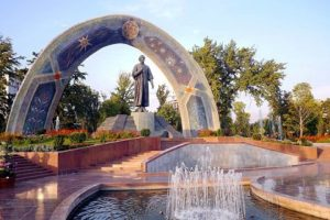 Сад «Боги Рудаки» Таджикистан