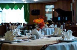 Рестораны в отелях Туркменистана