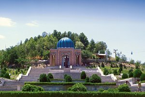 Андижан. Узбекистан. Дом музей Бабура