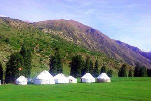Юртовый лагерь Киргизия