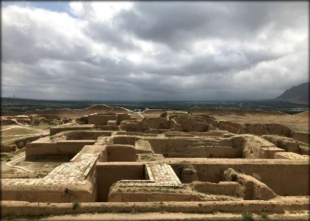 Городище Ниса в Туркменистане