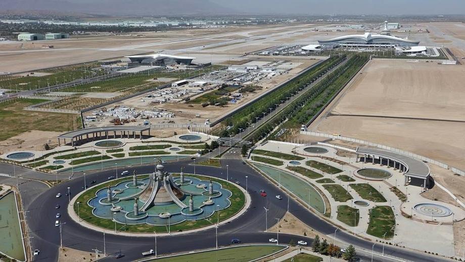 Туркменистан. Аэропорт. Блог