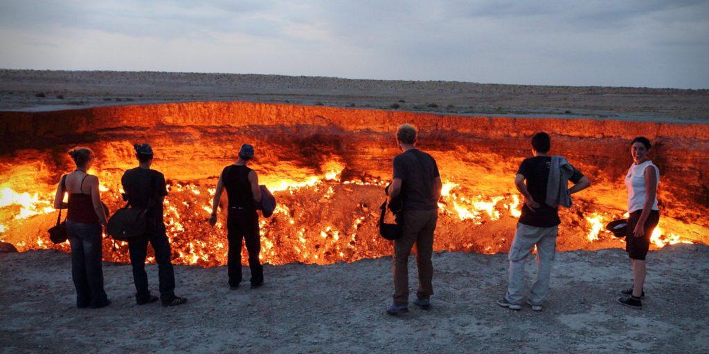 Дарваза. Туркменистан. Блог